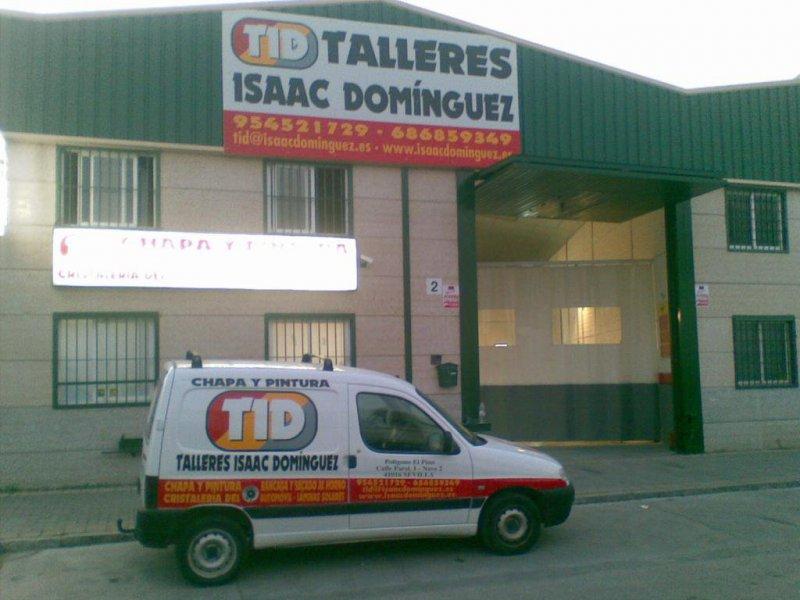 Taller Chapa y Pintura Isaac Domínguez
