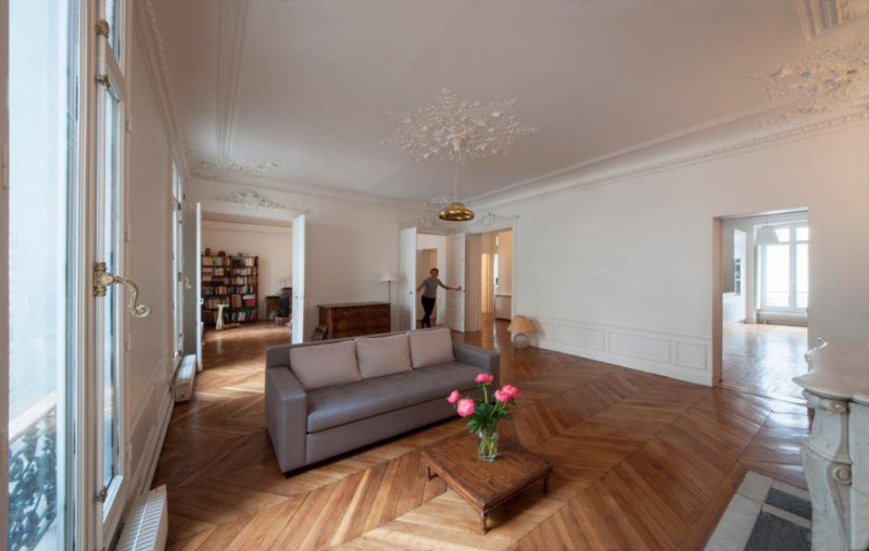 Rehabilitación de apartamento en París