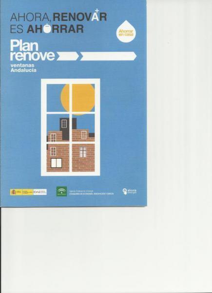 Plan renove ventanas Andalucía