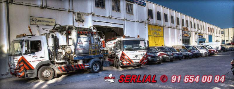 Flota SERIAL S.L. para Obras de Pocería y servicios de limpieza de alcantarillado