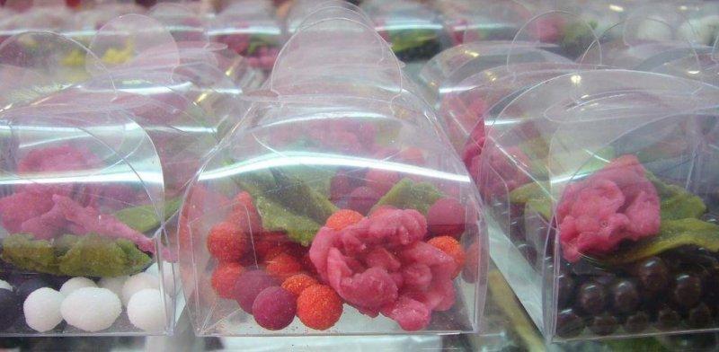Flores Cristalizadas Pastelería Le Petit Four
