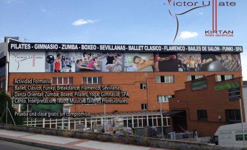 Fachada Centro de ocio Kirtan Victor Ullate