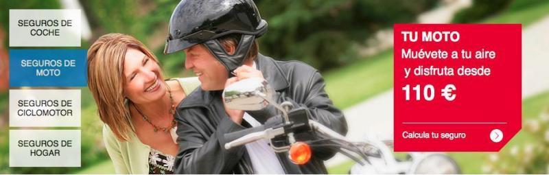 Seguro de moto desde 110