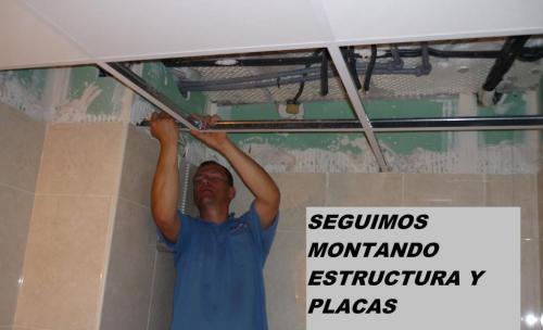 montajes de techos demontables