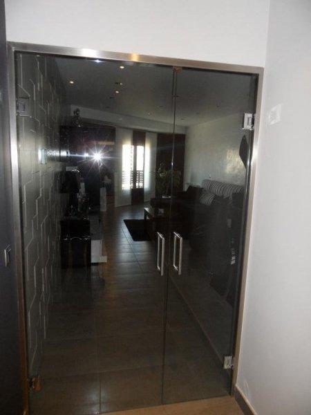 Puerta Cristal Templado Salon