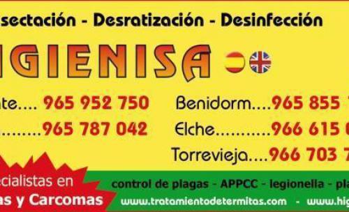 desinfecciones Alicante