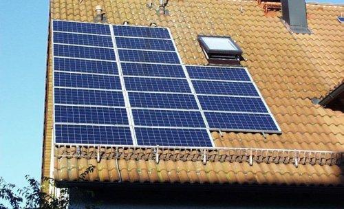 Instalación solar de mediana potncia
