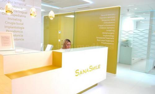 Recepción SanaSmile
