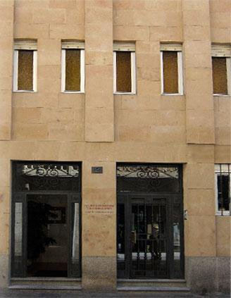 Fachada Residencia Estudiantes Salamanca