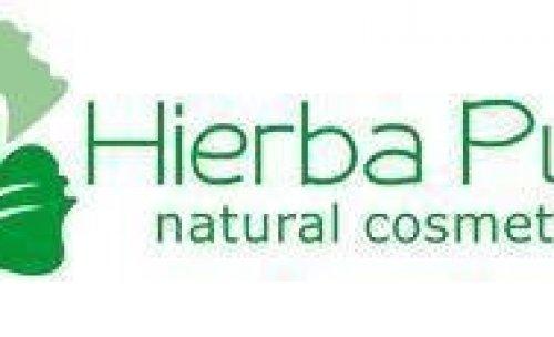 logotipo hierba pura