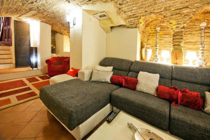 Salón cueva y salón de estar