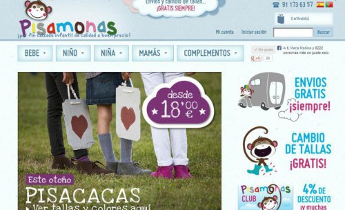 nueva web pisamonas
