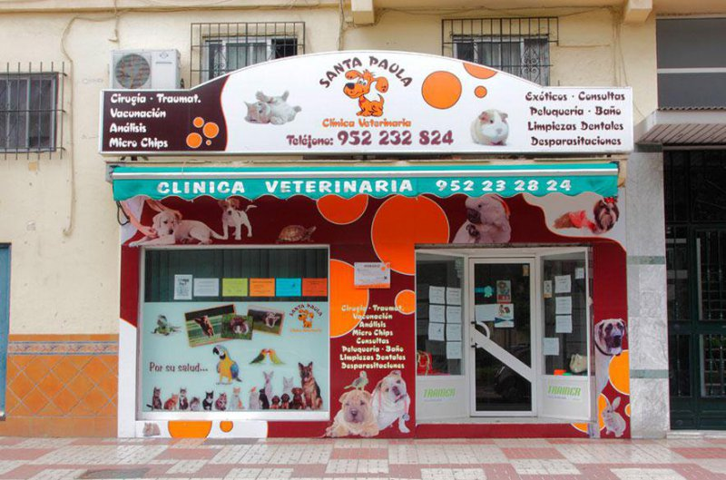 Clínica Veterinaria Santa Paula, veterinarios en Málaga