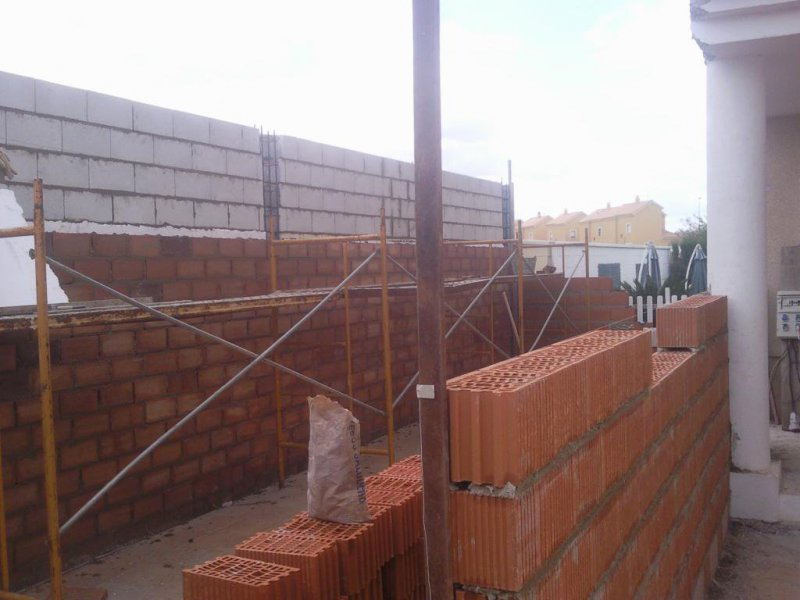 construcción de garaje