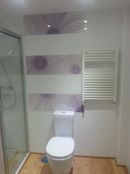 Baño reforma integral de piso crt de la sierra