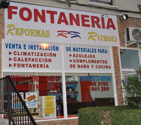 Reformas Rubio, fontanería y reforma de baños en Madrid
