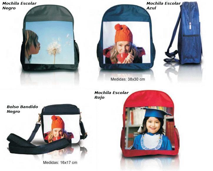 Tu excursión será un éxito luciendo tu propia mochila personalizada