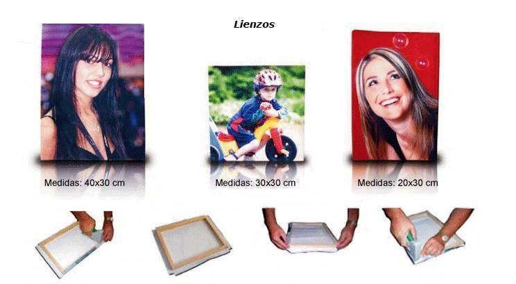 Crea vistosos lienzos con tus imágenes favoritas