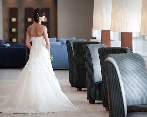 Momentos previos a la boda