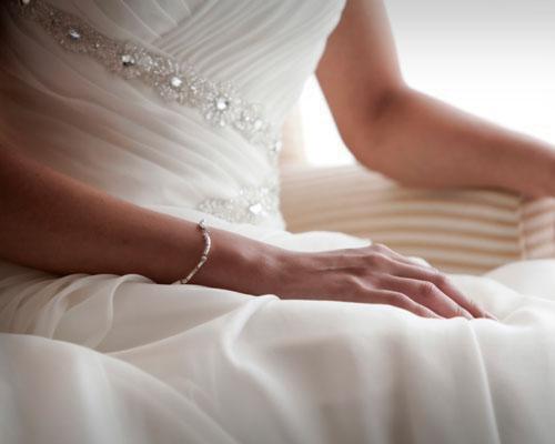 Detalle de una novia