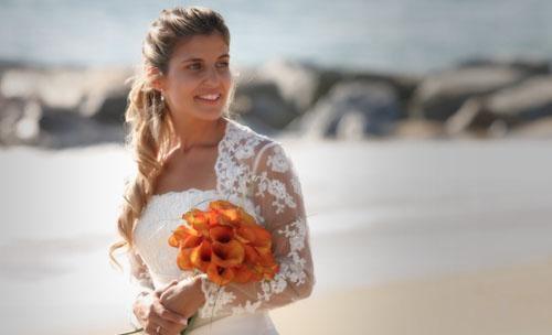 Foto de una novia