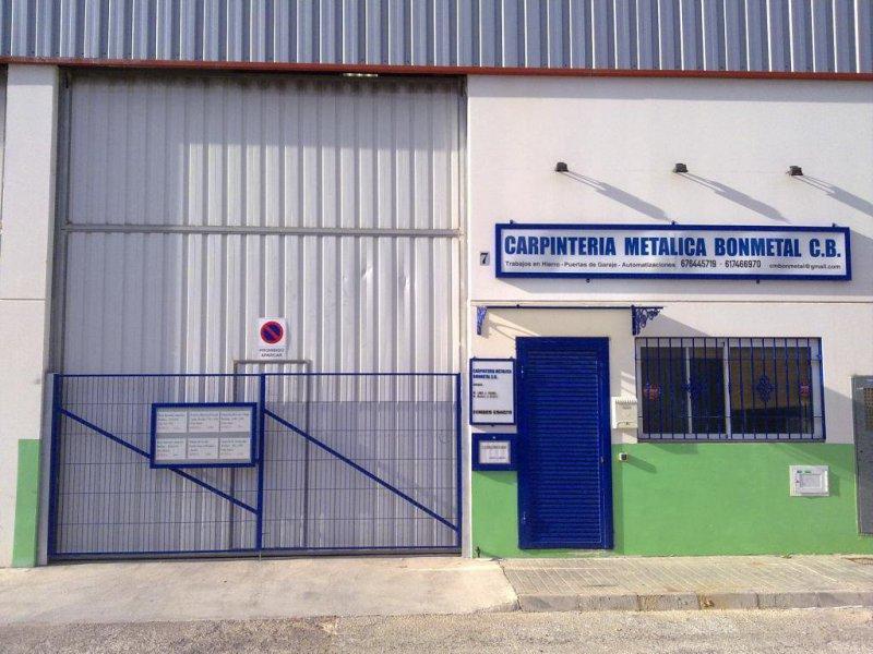CARPINTERIA METALICA BONMETAL, C.B.