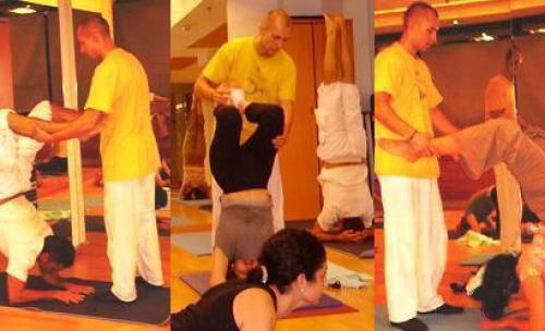 Clases y formacion profesional de yoga