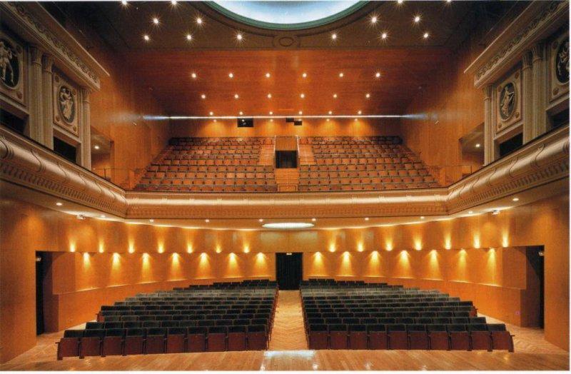 Rehabilitación integral Teatro Cervantes de Linares