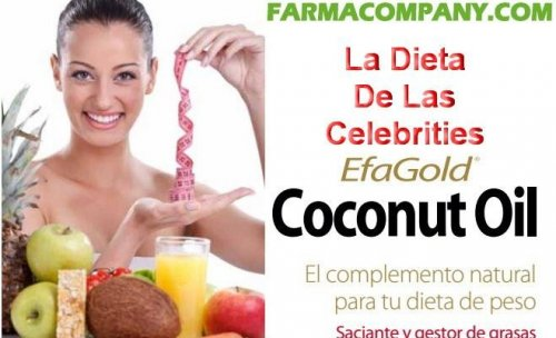 Efagold la dieta de las Celebrities