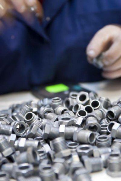 Control de calidad de piezas con utillaje