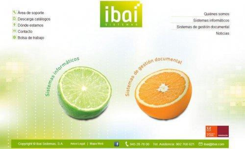 Web de Ibai Sistemas