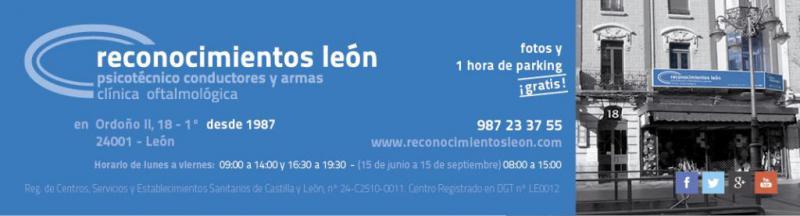 Tarjeta de Reconocimientos León