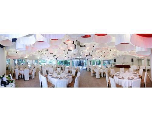 Banquete nupcial en el palacio de cristal