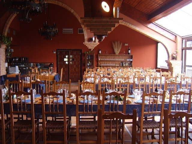 Interior del asador El Mirador