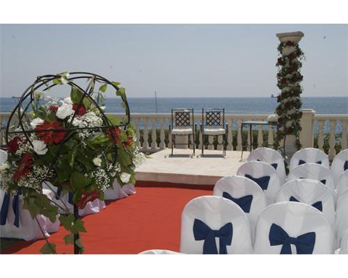 Ceremonia junto al mar