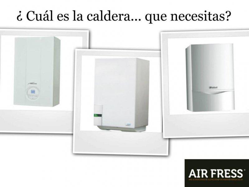 Te ayudamos a elegir la caldera más adecuada para tu hogar