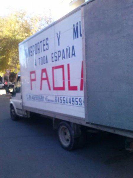 Mudanzas Paola, mudanzas desde Madrid
