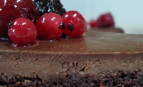 Sacher de chocolate