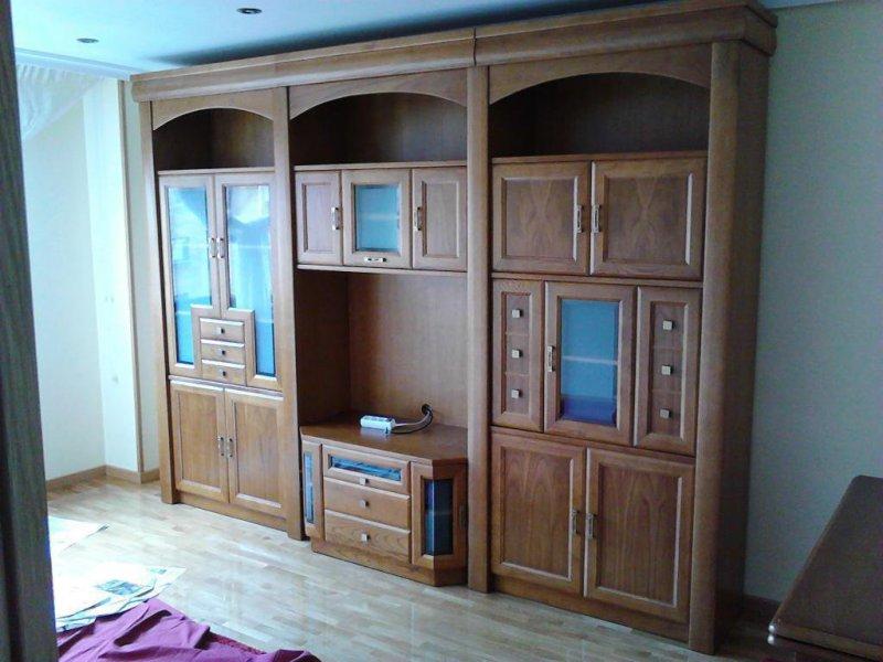 Mueble Salon en castaño