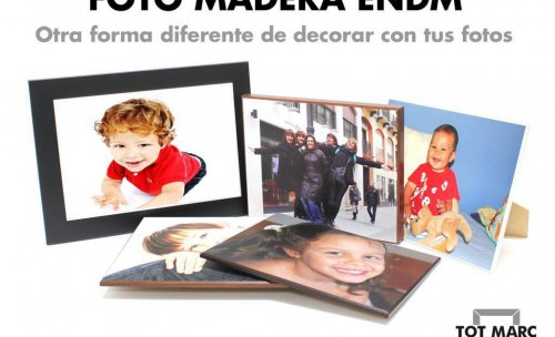 Descubre nuestras foto maderas ¡más resistentes que el lienzo!