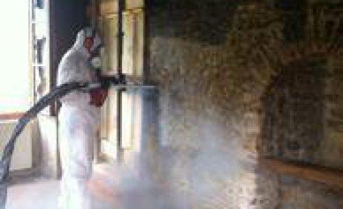 recuperación y limpieza después incendios