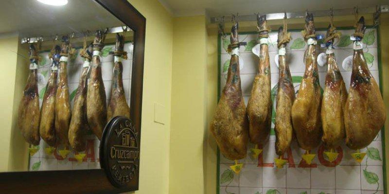 Jamones y productos ibéricos