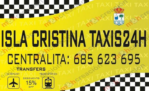 taxis isla cristina descuentos