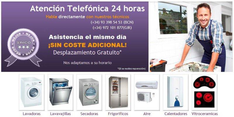 Reparación Calderas, Aire Acondicionado,Electrodomésticos y Antenas