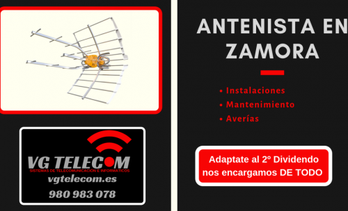 Antenista en Zamora