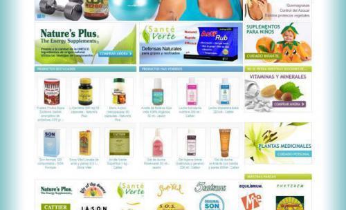 Parafarmacia on-line, venta productos naturales para la salud e higiene.