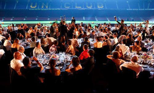 Espectacular banquete de boda