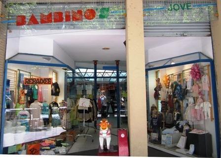 Tienda ropa de moda ropa infantil Juvenil vestidos comunion ceremonia bebé Bambinos Barcelona