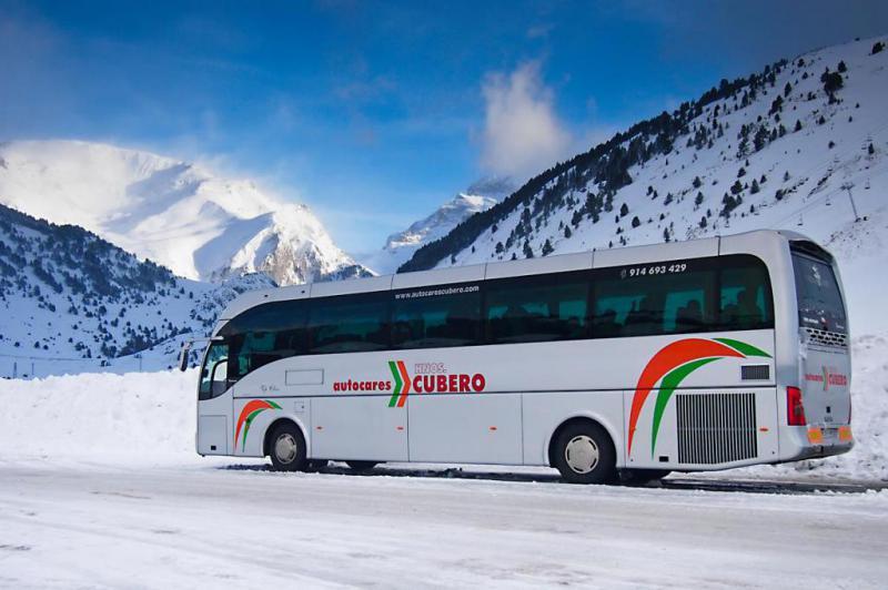 Autocares Cubero, alquiler de autobuses en Madrid