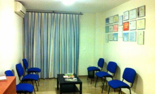 Sala de espera del Centro de Psicología AARON BECK - Granada